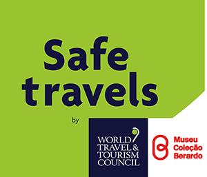 Selo Stamp Safe Travels WTTC Museu Coleção Berardo, Lisboa, Lisbon, Portugal