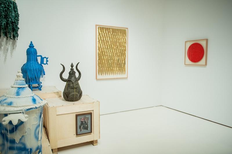 """""""Saudade, China & Portugal - Arte Contemporânea / Contemporary Art"""" - vista da exposição / view of the exhibition"""