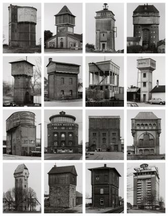 Bernd e / and Hilla Becher, «Watertowers», 1988
