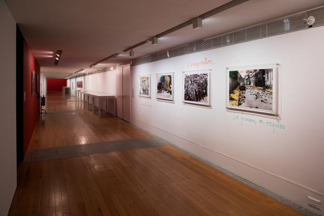 """""""1968: O Fogo da Ideias / The Fire of Ideas"""", Marcelo Brodsky - vista da exposição / view of the exhibition"""