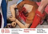 Convite: Inauguração da exposição Fauna, de André Romão - 20 de março, 19h00, Entrada Livre   Museu Coleção Berardo, Lisboa