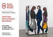 Convite   Inauguração: Julian Opie. Obras Inéditas / New Works