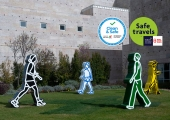 Entrada Gratuita de 25 de junho a 31 de julho Comemoração do 13.º Aniversário do Museu - selo Safe and Clean, Stamp Safe Travels  | Museu Coleção Berardo, Lisboa