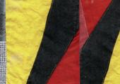 Detalhe da capa do livro / Detail from the cover of Carla Filipe. da cauda à cabeça», Museu Coleção Berardo, 2014.