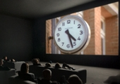 Christian Marclay. The Clock, 2010. Still de vídeo / Video still.