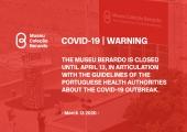 COVID-19 - Museu Berardo is closed until April 13