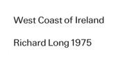 Art & Project: Richard Long, 1975.