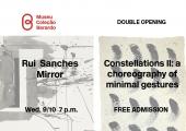 Convite   Dupla inauguração: Rui Sanches & Constelações II EN