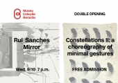 Convite | Dupla inauguração: Rui Sanches & Constelações II EN