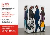 Inauguração Virtual: Julian Opie, Obras Inéditas / New Works