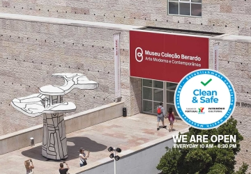 Berardo Museum - Open in Belém, Lisboa with the Clean & Safe Badge  | The Modern and Contemporary Art Museum in Lisboa