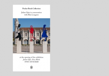 Pocket Book Collection – Julian Opie in conversation with Rita Lougares, at the opening of the exhibition «Julian Opie. New Works»