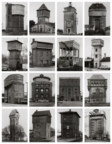 Bernd e / and Hilla Becher, «Watertowers», 1988