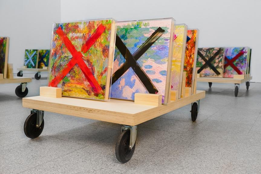 Pires Vieira. Trash – Lixo de Artista, vista da exposição / exhibition view   Museu Coleção Berardo, Lisboa