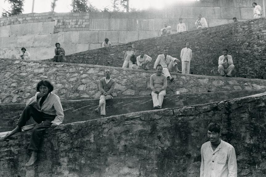Lu Nan, Mental Hospital, Guizhou, 1990