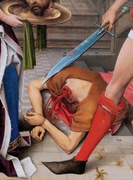 Fauna, de André Romão. Rogier van der Weyden. Museu Coleção Berardo, Lisboa