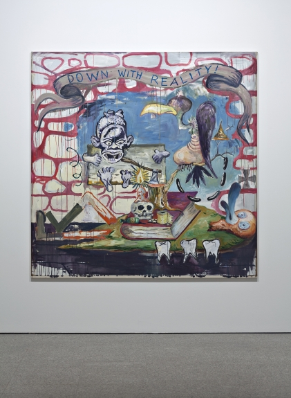 Manuel Ocampo, The Aesthetizisation of Desublimated Fantasies Rendered Impotent by Unredeemable Gestures, 2007