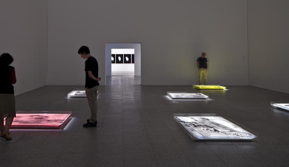 Vista da exposição / View of the exhibition BES Photo 2014. Museu Coleção Berardo, 2014.