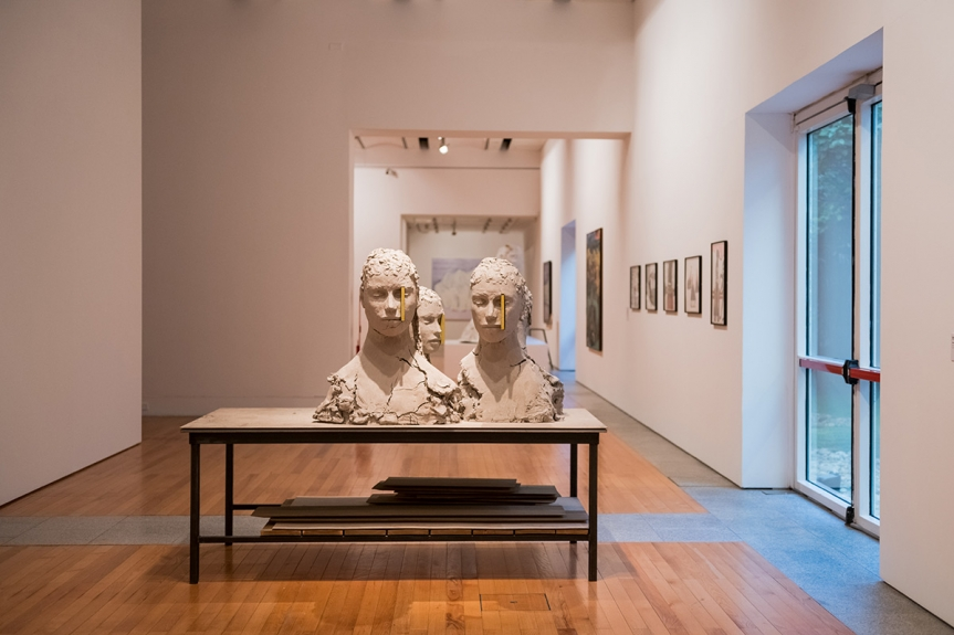 """""""Quel Amour!?"""", vista da exposição / view of the exhibition"""