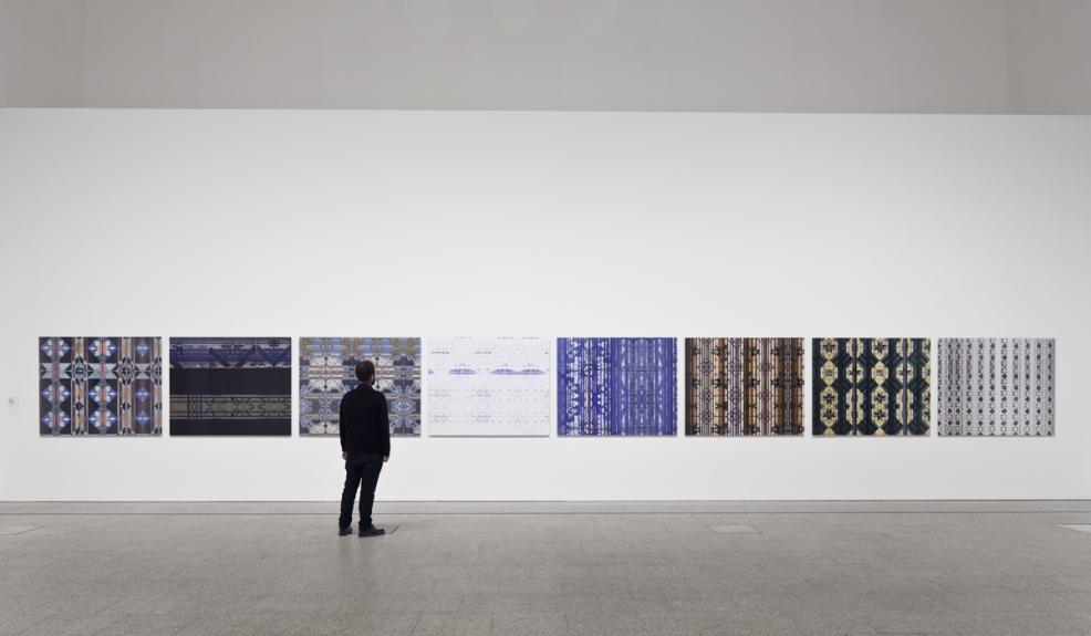 Vista da exposição Entre Memória e Arquivo / View of the exhibition Between Memory and Archive