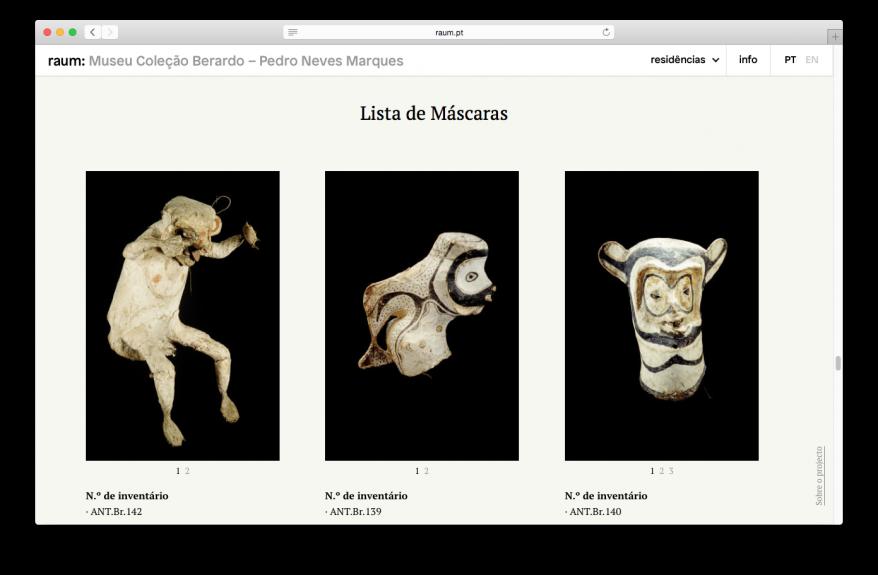 Captura de ecrã de / Print screen of Pedro Neves Marques. Os Jurupixuna, 2014 - raum.pt/museu-berardo.